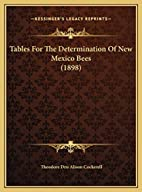 Tables For The Determination Of New Mexico…