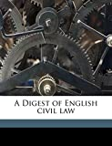 Jenks Edward: A Digest of English civil law
