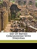 John, Walton: List of British Curculonidae with synonyma