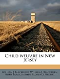 Blackburn, William J: Child welfare in New Jersey