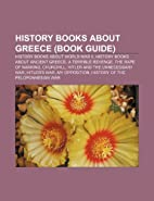 History Books about Greece (Book Guide):…