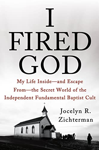 Book cover of I Fired God