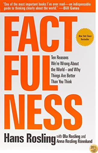 TFactfulness: Ten Reasons We're Wrong About the World--and Why Things Are Better Than You Think