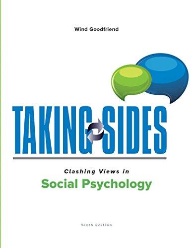 taking-sides-clashing-views-in-social-psychology