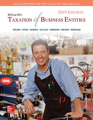 loose-leaf-for-mcgraw-hills-taxation-of-business-entities-2019-edition