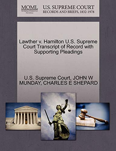 lawther-v-hamilton-us-supreme-court-transcript-of-record-with-supporting-pleadings