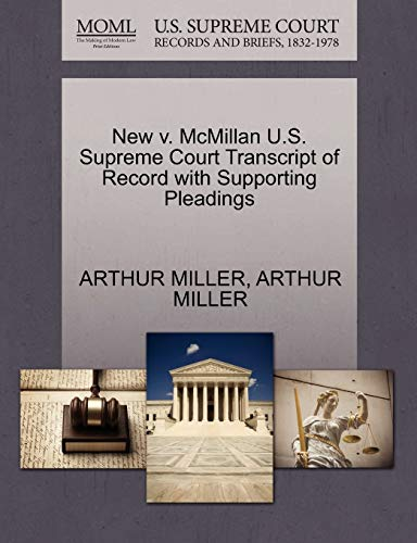 new-v-mcmillan-us-supreme-court-transcript-of-record-with-supporting-pleadings