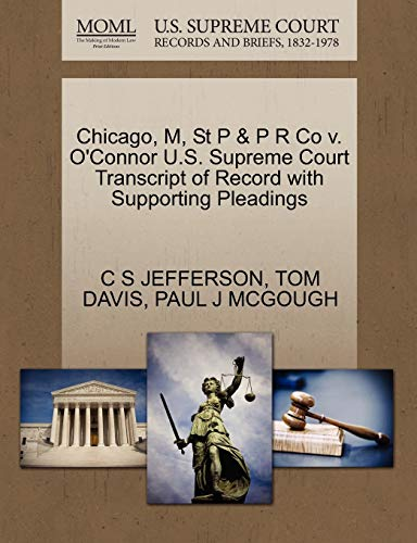 chicago-m-st-p-p-r-co-v-oconnor-us-supreme-court-transcript-of-record-with-supporting-pleadings