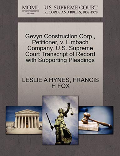 gevyn-construction-corp-petitioner-v-limbach-company-us-supreme-court-transcript-of-record-with-supporting-pleadings