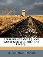 Leerredenen Van J. J. Van Oosterzee: Woorden…