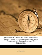 Modern Classical Philosophers: Selections…