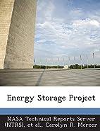 Energy Storage Project by Carolyn R. Mercer