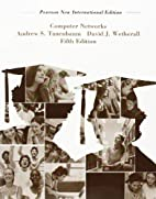 Computer Networks by David J. Wetherall…