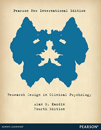 research-design-in-clinical-psychology-pearson-new-international-edition