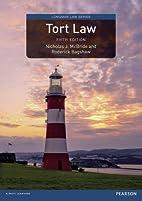 Tort Law (Longman Law Series) by Nicholas J.…