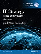 IT Strategy: Issues and Practices by James…