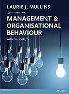 Management & Organisational Behaviour, 11th…