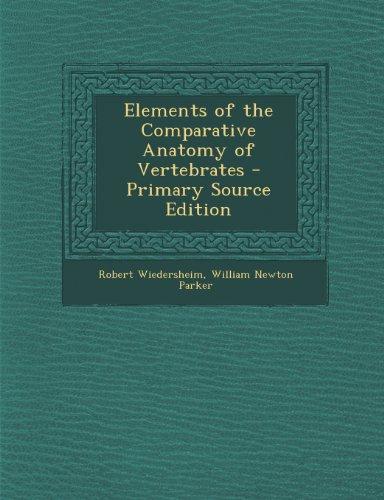 elements-of-the-comparative-anatomy-of-vertebrates