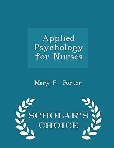 applied-psychology-for-nurses-scholars-choice-edition