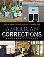American Corrections by Todd R. Clear