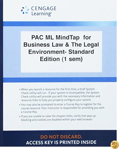 LMS Integrated for MindTap Business Law, 1 term (6 months) Printed Access Card for Beatty/Samuelson's Business Law and the Legal Environment, Standard Edition, 7th