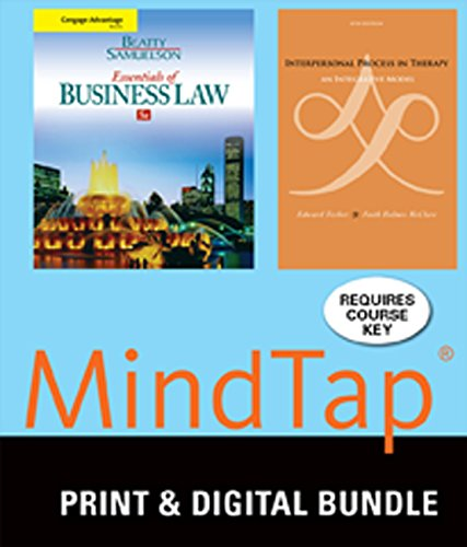 bundle-cengage-advantage-books-essentials-of-business-law-9th-interpersonal-process-in-therapy-an-integrative-model-6th-mindtap-counseling-1-term-6-months-printed-access-card