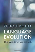 Language Evolution: The Windows Approach by…