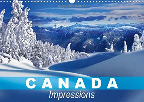 canada-impressions-2017-the-second-largest-country-in-the-world-calvendo-places