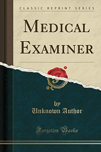 medical-examiner-classic-reprint
