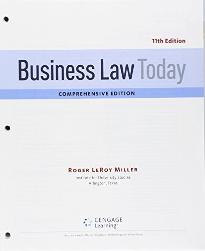 bundle-business-law-today-comprehensive-loose-leaf-version-11th-lms-integrated-for-mindtap-business-law-1-term-6-months-printed-access-card