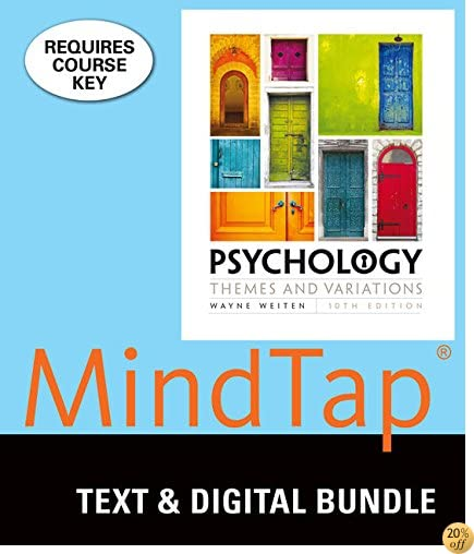 TBundle: Psychology: Themes & Variations, Loose-leaf Version, 10th + LMS Integrated for MindTap Psychology, 1 term (6 months) Printed Access Card