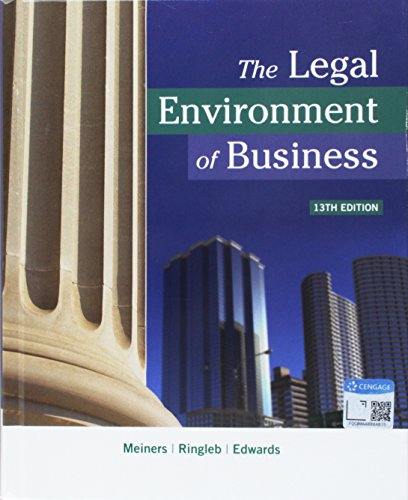 bundle-the-legal-environment-of-business-13th-lms-integrated-mindtap-business-law-1-term-6-months-printed-access-card