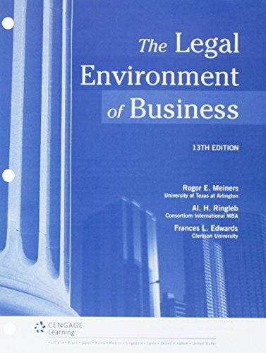 bundle-the-legal-environment-of-business-loose-leaf-version-13th-lms-integrated-mindtap-business-law-1-term-6-months-printed-access-card