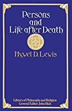 Persons and Life after Death (Library of…
