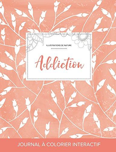 journal-de-coloration-adulte-addiction-illustrations-de-nature-coquelicots-pche-french-edition