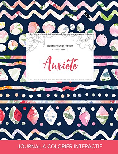 journal-de-coloration-adulte-anxit-illustrations-de-tortues-floral-tribal-french-edition