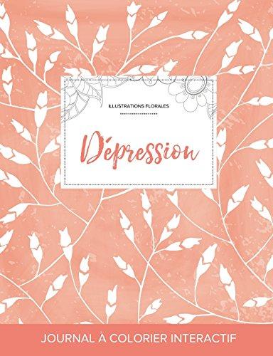 journal-de-coloration-adulte-dpression-illustrations-florales-coquelicots-pche-french-edition