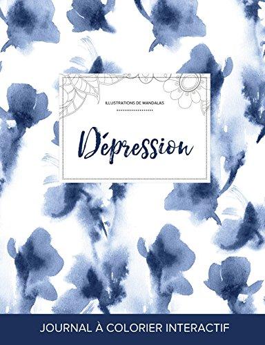 journal-de-coloration-adulte-dpression-illustrations-de-mandalas-orchide-bleue-french-edition