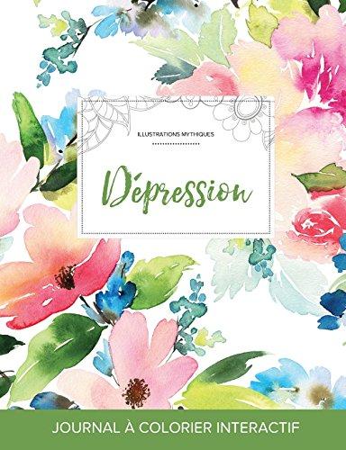 journal-de-coloration-adulte-dpression-illustrations-mythiques-floral-pastel-french-edition
