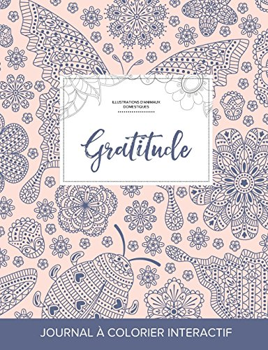 journal-de-coloration-adulte-gratitude-illustrations-danimaux-domestiques-coccinelle-french-edition