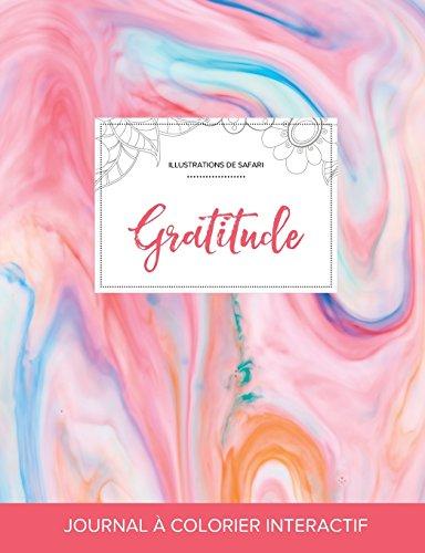 journal-de-coloration-adulte-gratitude-illustrations-de-safari-chewing-gum-french-edition
