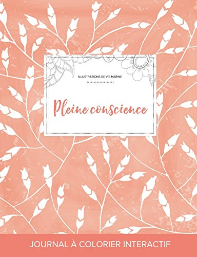journal-de-coloration-adulte-pleine-conscience-illustrations-de-vie-marine-coquelicots-pche-french-edition