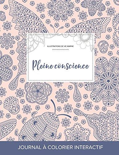 journal-de-coloration-adulte-pleine-conscience-illustrations-de-vie-marine-coccinelle-french-edition