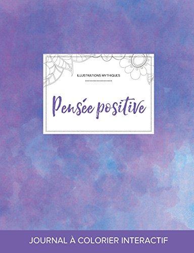 journal-de-coloration-adulte-pense-positive-illustrations-mythiques-brume-violette-french-edition