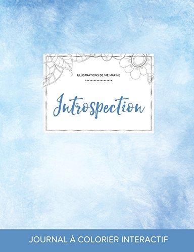 journal-de-coloration-adulte-introspection-illustrations-de-vie-marine-cieux-dgags-french-edition