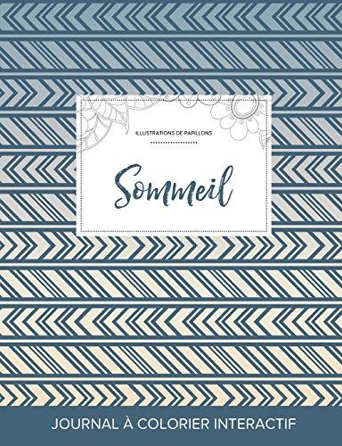 journal-de-coloration-adulte-sommeil-illustrations-de-papillons-tribal-french-edition