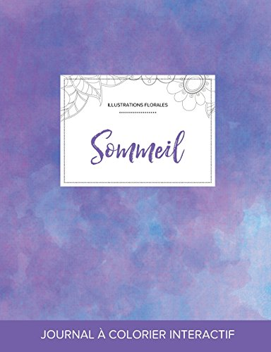 journal-de-coloration-adulte-sommeil-illustrations-florales-brume-violette-french-edition
