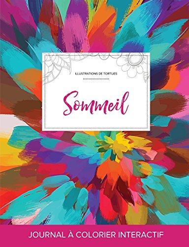 journal-de-coloration-adulte-sommeil-illustrations-de-tortues-salve-de-couleurs-french-edition