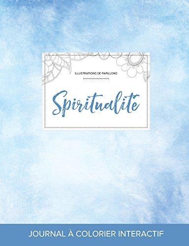 journal-de-coloration-adulte-spiritualit-illustrations-de-papillons-cieux-dgags-french-edition