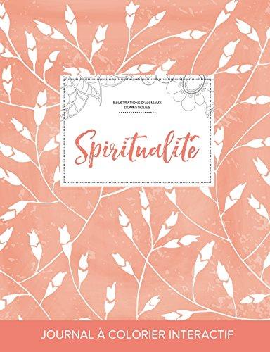 journal-de-coloration-adulte-spiritualit-illustrations-danimaux-domestiques-coquelicots-pche-french-edition